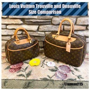 Louis Vuitton Trouville and Deauville